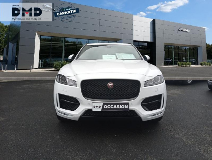 Jaguar F-pace 2.0d 180ch R-sport Awd Bva8 - Visuel #4