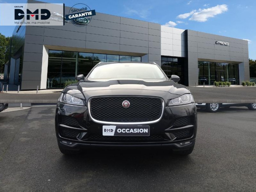 Jaguar F-pace 2.0d 180ch Prestige 4x4 Bva8 - Visuel #4