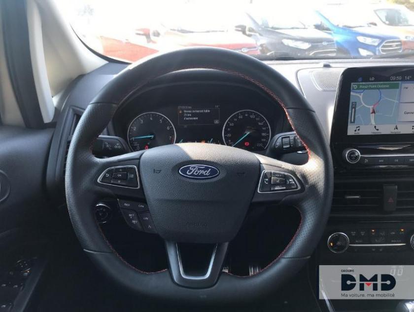 Ford Ecosport 1.0 Ecoboost 140ch St-line - Visuel #7