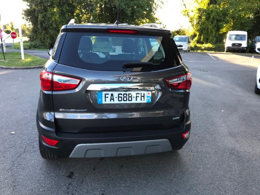 Ford Ecosport 1.0 Ecoboost 125ch Titanium Business - Visuel #6