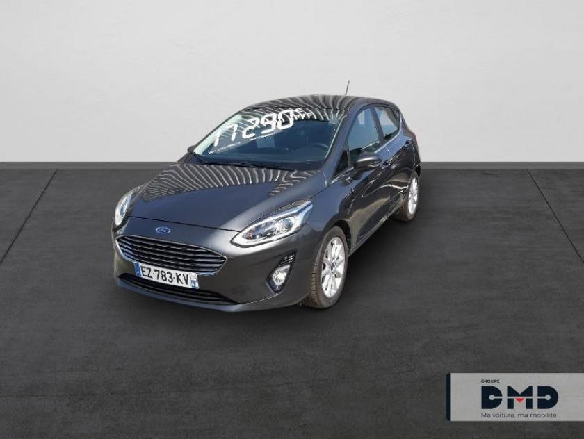 Ford Fiesta 1.5 Tdci 120ch Stop&start Titanium 5p - Visuel #1