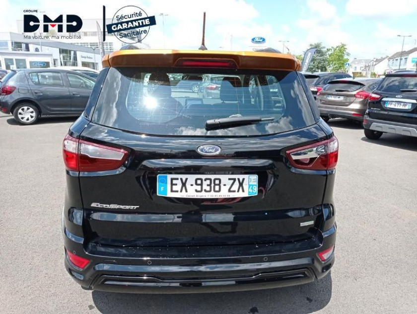 Ford Ecosport 1.0 Ecoboost 125ch St-line Noir/jaune Euro6.2 - Visuel #11