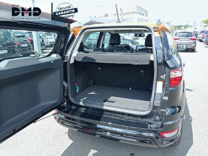 Ford Ecosport 1.0 Ecoboost 125ch St-line Noir/jaune Euro6.2 - Visuel #12