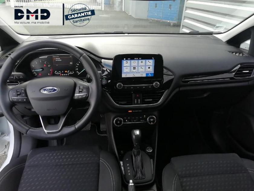 Ford Fiesta 1.0 Ecoboost 100ch Stop&start Titanium Bva 5p Euro6.2 - Visuel #7
