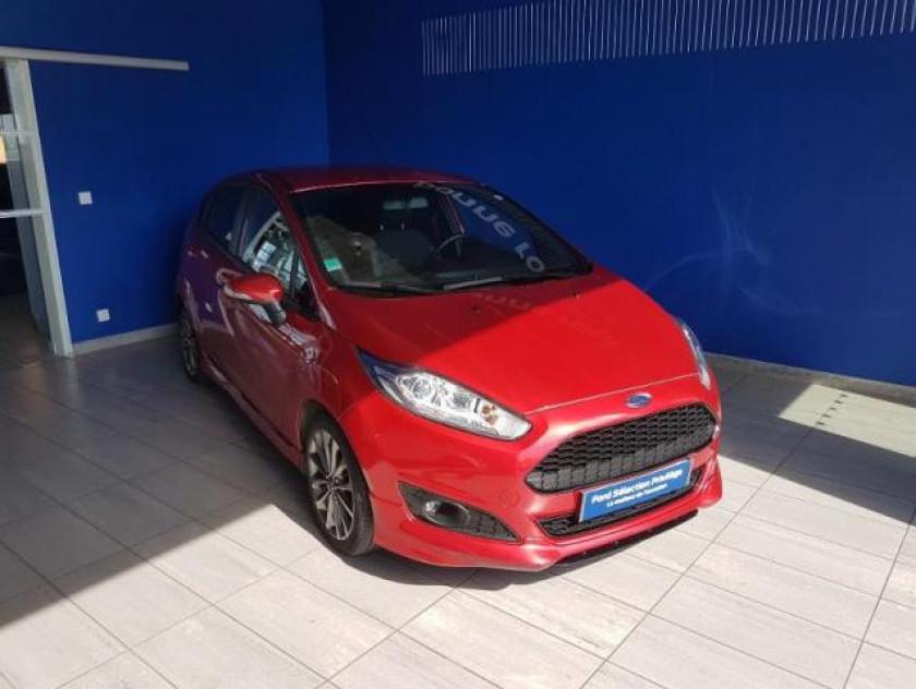 Ford Fiesta 1.5 Tdci 95ch Fap St Line 5p - Visuel #1
