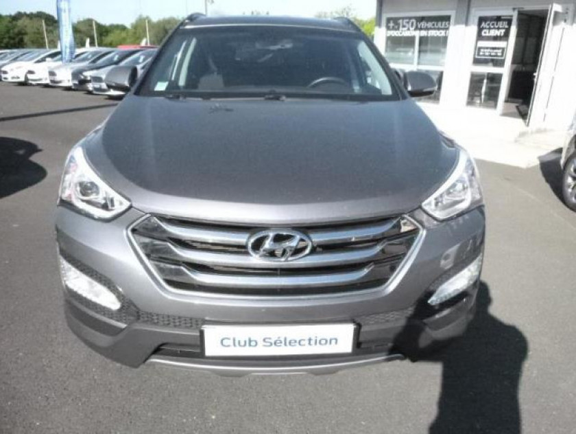 Hyundai Santa Fe 2.2 Crdi 197ch Intuitive - Visuel #2