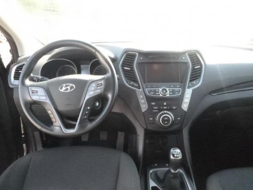 Hyundai Santa Fe 2.2 Crdi 197ch Intuitive - Visuel #4