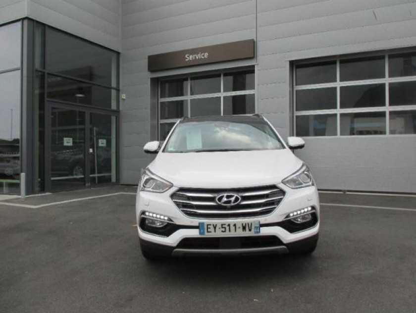 Hyundai Santa Fe Santa Fe 2.2 Crdi 200 4wd Executive Bva - Visuel #1