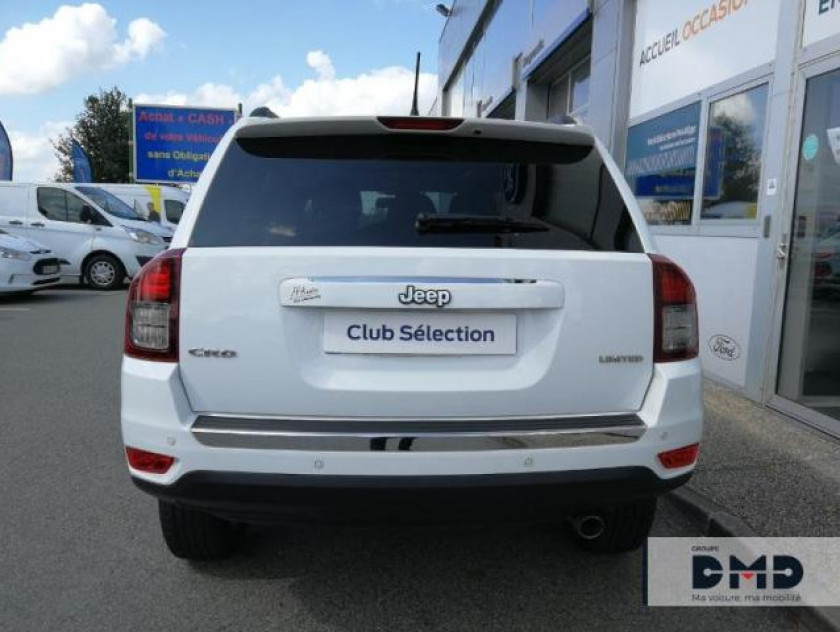 Jeep Compass 2.2 Crd 163 Fap Limited 4x4 - Visuel #11