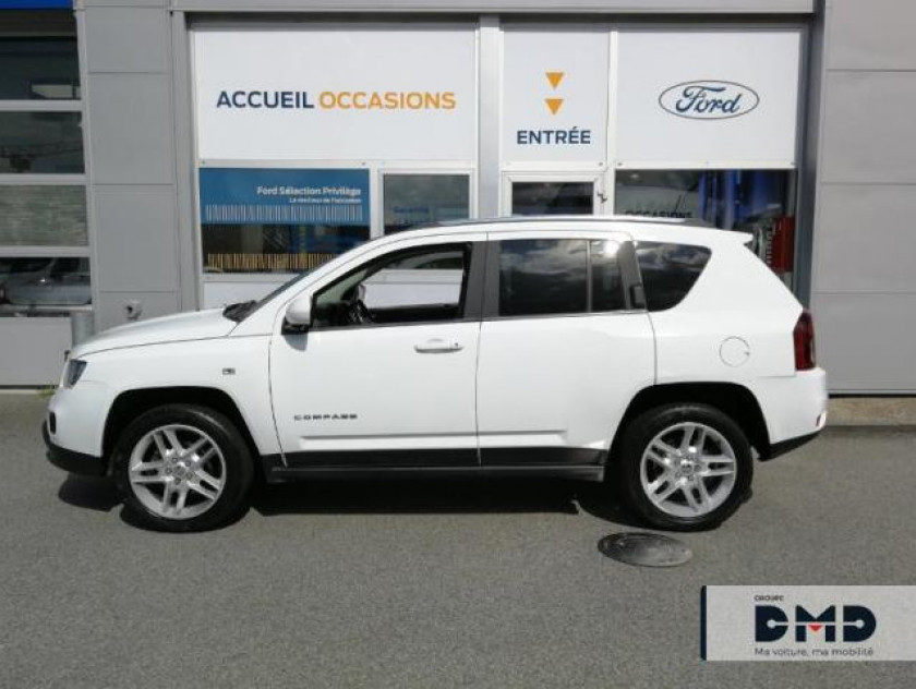 Jeep Compass 2.2 Crd 163 Fap Limited 4x4 - Visuel #2