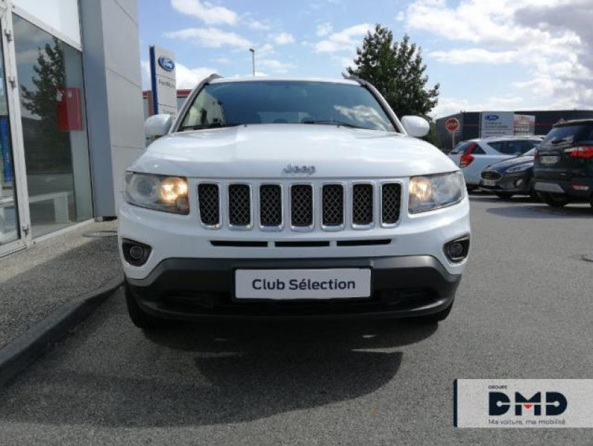 Jeep Compass 2.2 Crd 163 Fap Limited 4x4 - Visuel #4