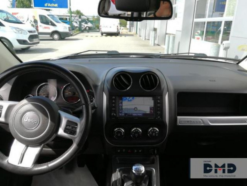 Jeep Compass 2.2 Crd 163 Fap Limited 4x4 - Visuel #5