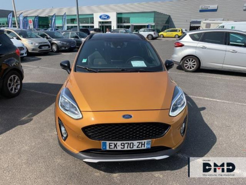 Ford Fiesta Active 1.0 Ecoboost 125ch S&s Plus Euro6.2 - Visuel #4