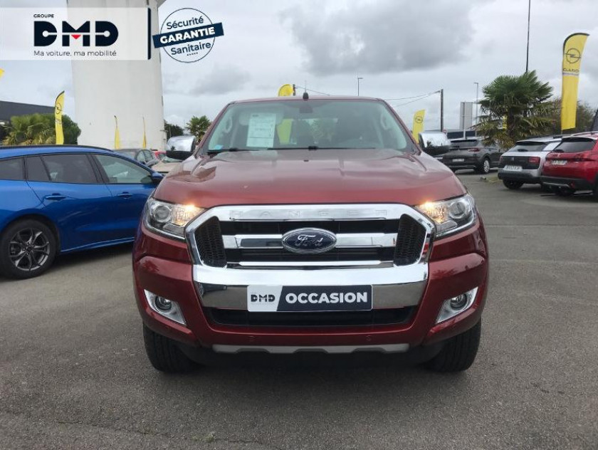 Ford Ranger 2.2 Tdci 160ch Double Cabine Limited Bva - Visuel #4