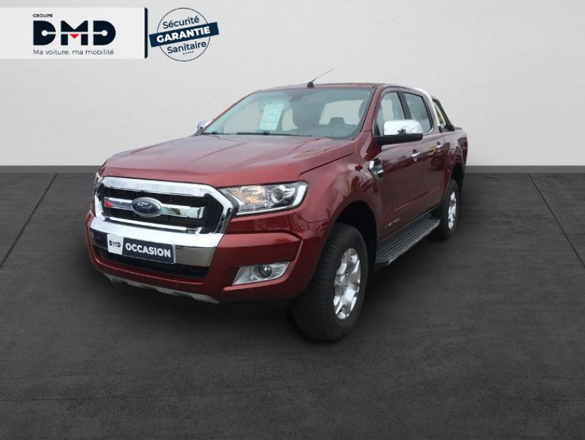 Ford Ranger 2.2 Tdci 160ch Double Cabine Limited Bva - Visuel #1