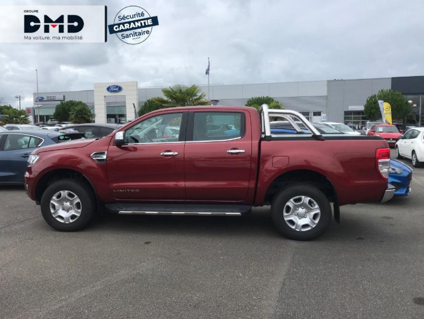 Ford Ranger 2.2 Tdci 160ch Double Cabine Limited Bva - Visuel #2