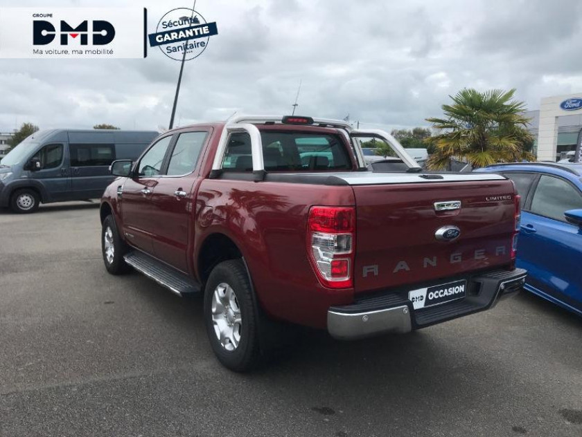 Ford Ranger 2.2 Tdci 160ch Double Cabine Limited Bva - Visuel #3