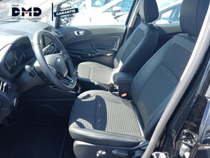 Ford Ecosport 1.0 Ecoboost 100ch Titanium Euro6.2 - Visuel #9