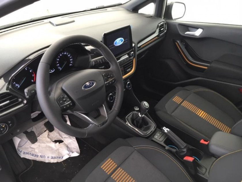 Ford Fiesta Active 1.0 Ecoboost 100ch S&s Pack Euro6.2 - Visuel #13