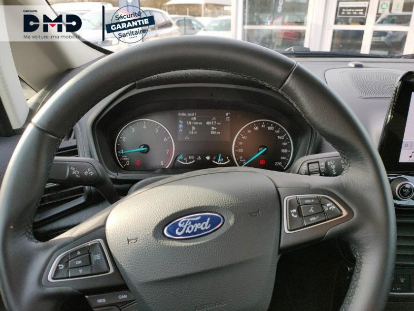Ford Ecosport 1.0 Ecoboost 125ch Titanium Euro6.2 - Visuel #7