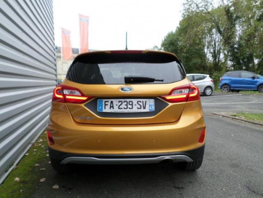 Ford Fiesta Active 1.0 Ecoboost 125ch S&s Pack Euro6.2 - Visuel #13