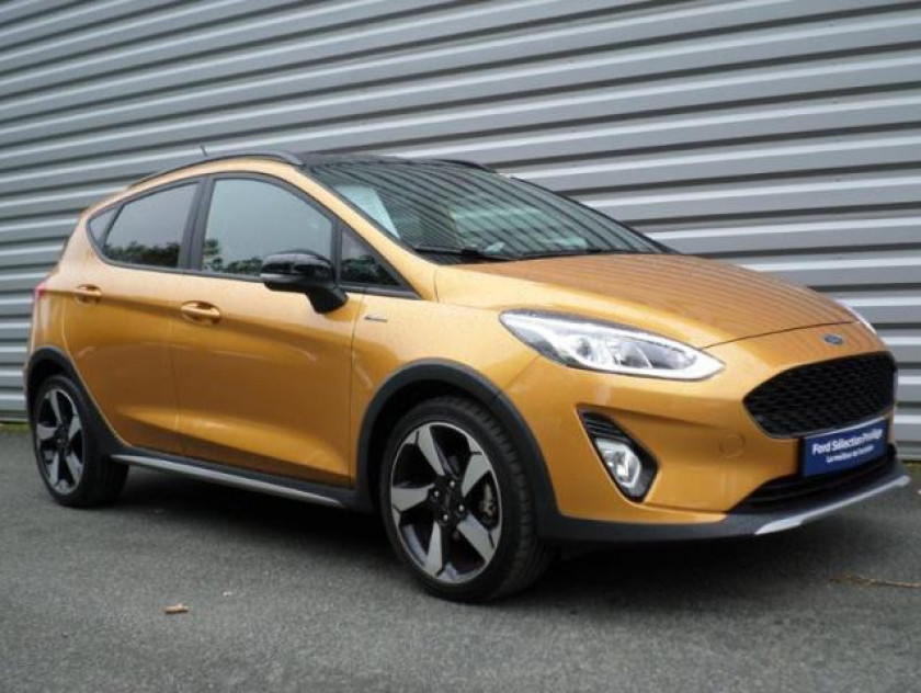 Ford Fiesta Active 1.0 Ecoboost 125ch S&s Pack Euro6.2 - Visuel #1