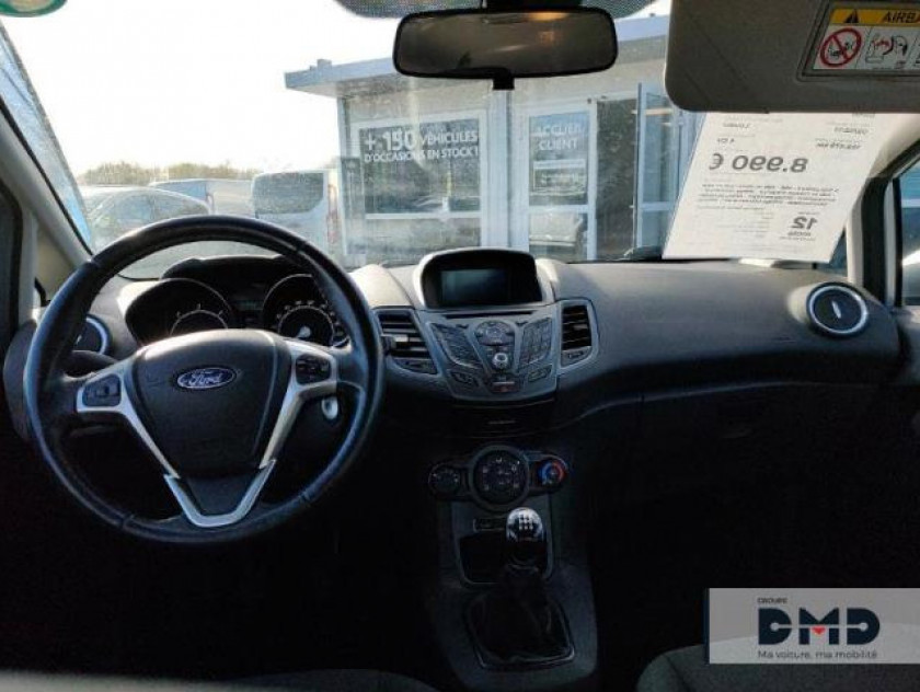 Ford Fiesta 1.5 Tdci 95ch Fap Eco Stop&start Business Nav 5p - Visuel #5