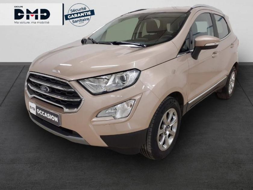 Ford Ecosport 1.0 Ecoboost 125ch Titanium Euro6.2 - Visuel #1
