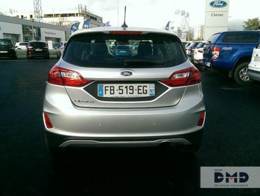 Ford Fiesta Active 1.5 Tdci 120ch S&s Plus Euro6.2 - Visuel #11