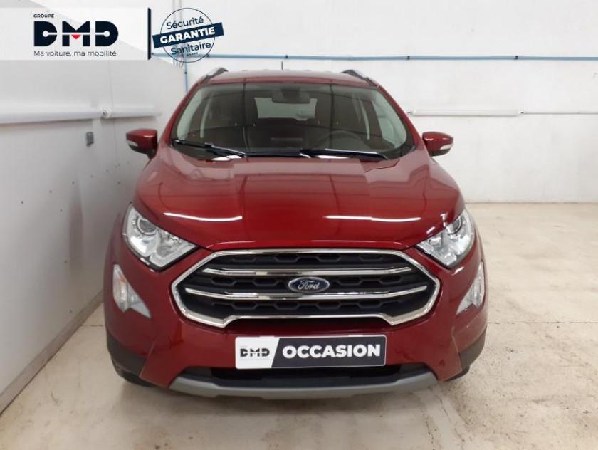 Ford Ecosport 1.0 Ecoboost 125ch Titanium Euro6.2 - Visuel #4