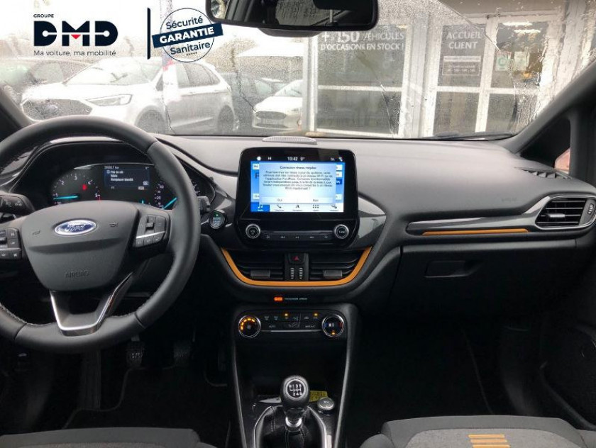 Ford Fiesta Active 1.5 Tdci 120ch S&s Pack Euro6.2 - Visuel #5