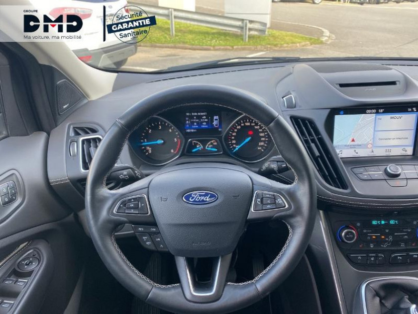 Ford Kuga 1.5 Tdci 120ch Stop&start Vignale 4x2 Euro6.2 - Visuel #7