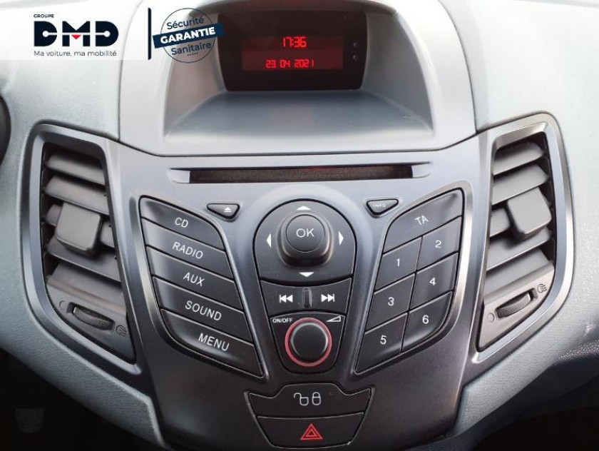 Ford Fiesta 1.25 60ch Ambiente 3p - Visuel #6