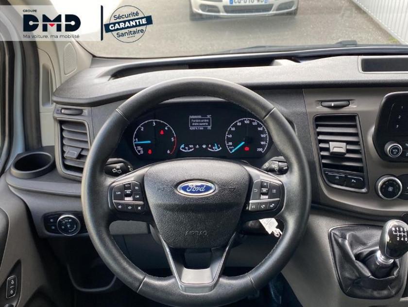 Ford Transit Custom Kombi 320 L2h1 2.0 Ecoblue 105ch Trend Business Euro6.2 - Visuel #7