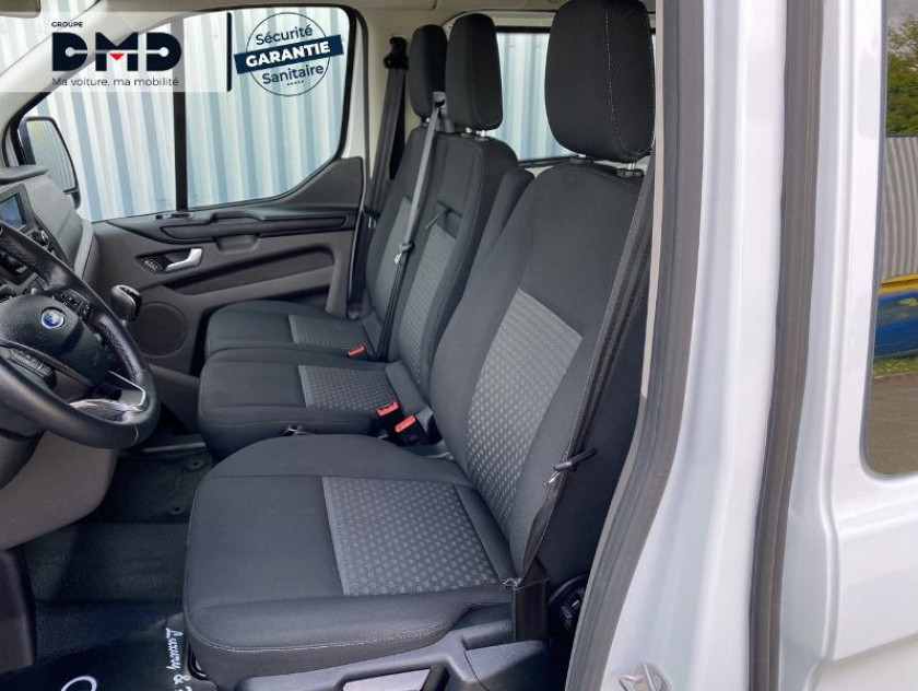 Ford Transit Custom Kombi 320 L2h1 2.0 Ecoblue 105ch Trend Business Euro6.2 - Visuel #9