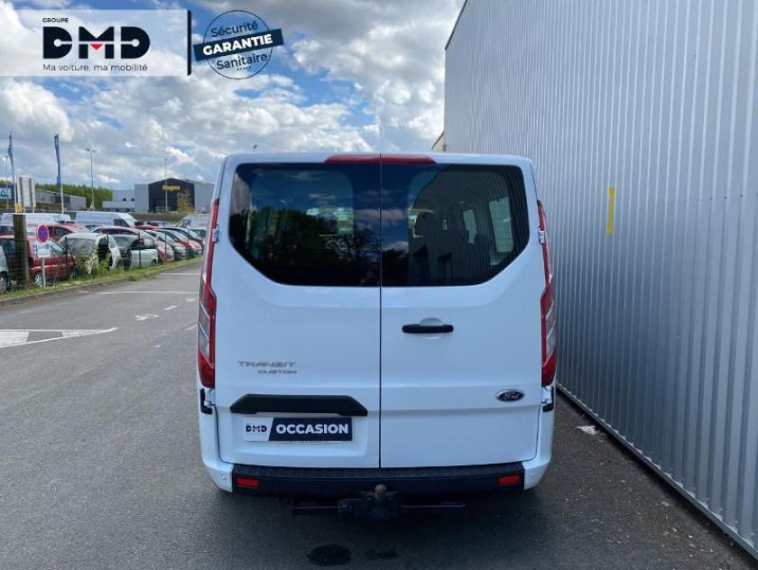 Ford Transit Custom Kombi 320 L2h1 2.0 Ecoblue 105ch Trend Business Euro6.2 - Visuel #11