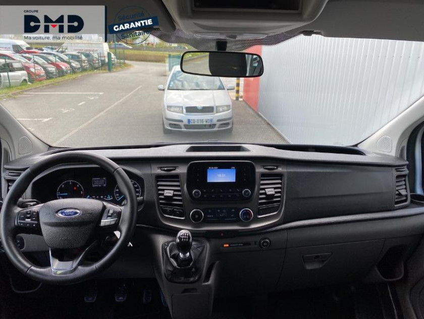 Ford Transit Custom Kombi 320 L2h1 2.0 Ecoblue 105ch Trend Business Euro6.2 - Visuel #5
