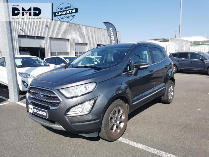 Ford Ecosport 1.5 Ecoblue 100ch Titanium Euro6.2 - Visuel #1