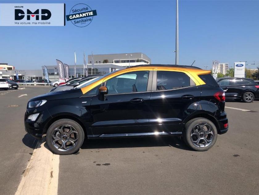Ford Ecosport 1.0 Ecoboost 125ch St-line Noir/jaune Euro6.2 - Visuel #2