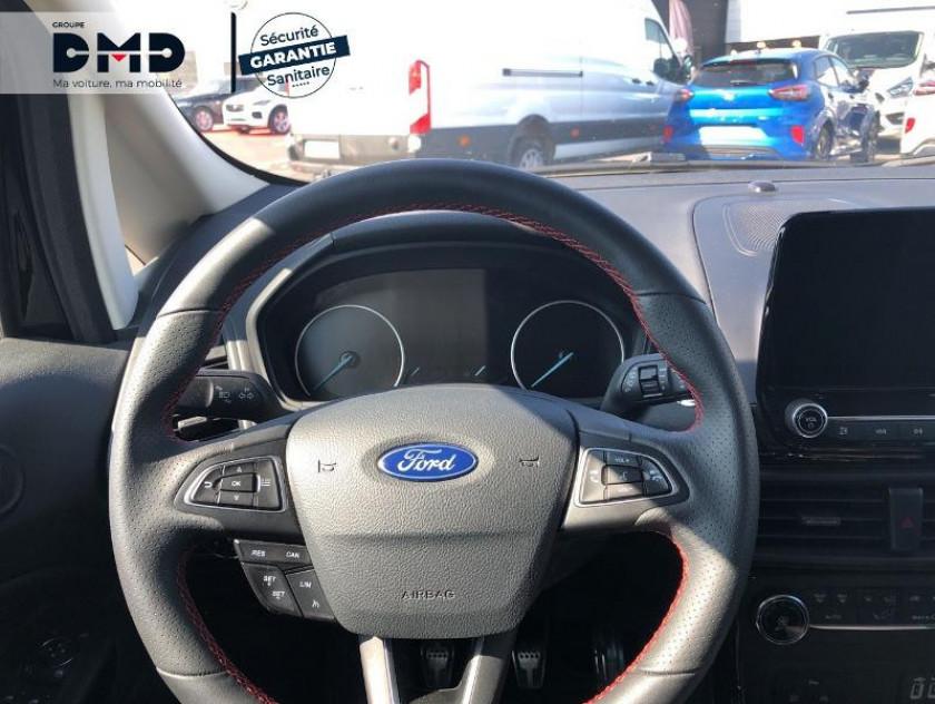 Ford Ecosport 1.0 Ecoboost 125ch St-line Noir/jaune Euro6.2 - Visuel #7
