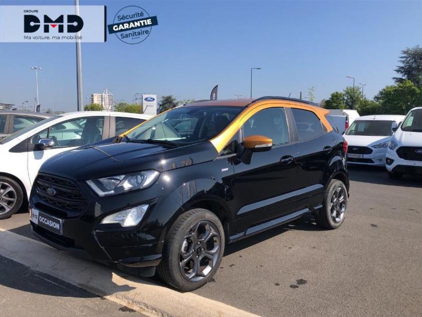 Ford Ecosport 1.0 Ecoboost 125ch St-line Noir/jaune Euro6.2 - Visuel #14