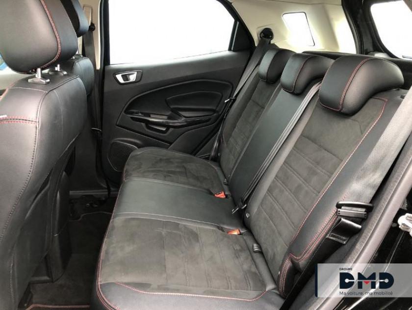 Ford Ecosport 1.5 Ecoblue 125ch St-line Noir/jaune 4x2 Euro6.2 - Visuel #10