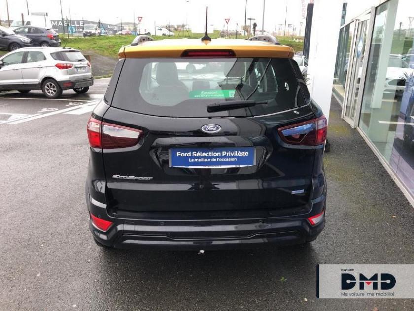 Ford Ecosport 1.5 Ecoblue 125ch St-line Noir/jaune 4x2 Euro6.2 - Visuel #11