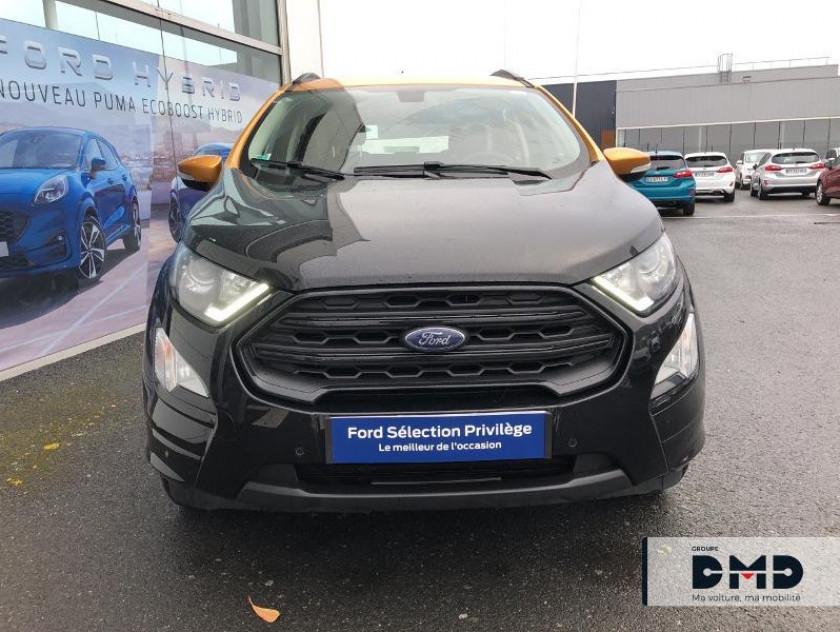 Ford Ecosport 1.5 Ecoblue 125ch St-line Noir/jaune 4x2 Euro6.2 - Visuel #4