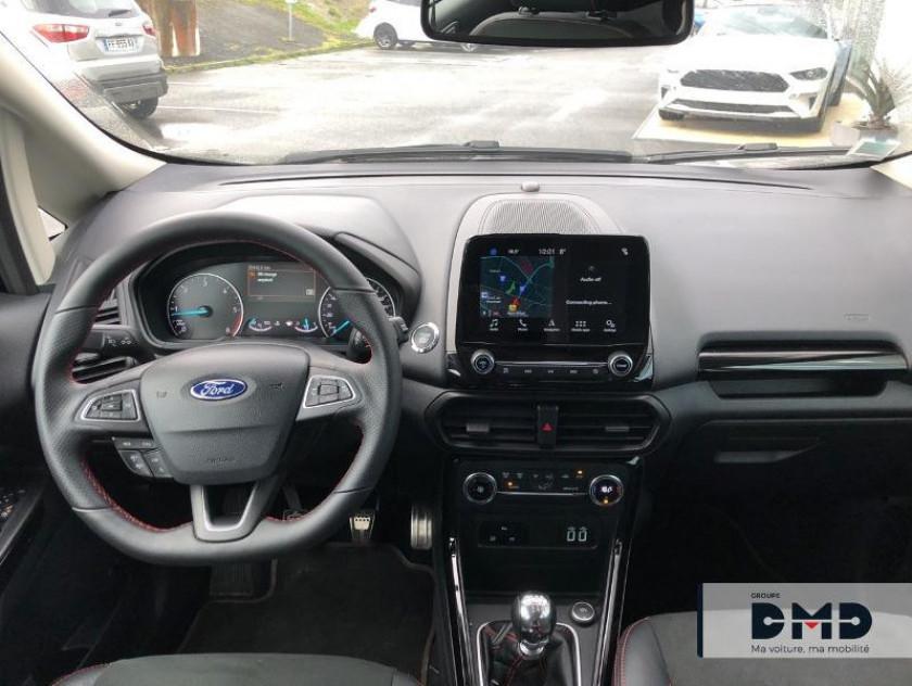 Ford Ecosport 1.5 Ecoblue 125ch St-line Noir/jaune 4x2 Euro6.2 - Visuel #5