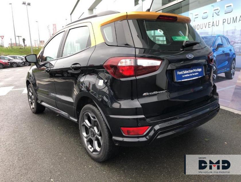 Ford Ecosport 1.5 Ecoblue 125ch St-line Noir/jaune 4x2 Euro6.2 - Visuel #3