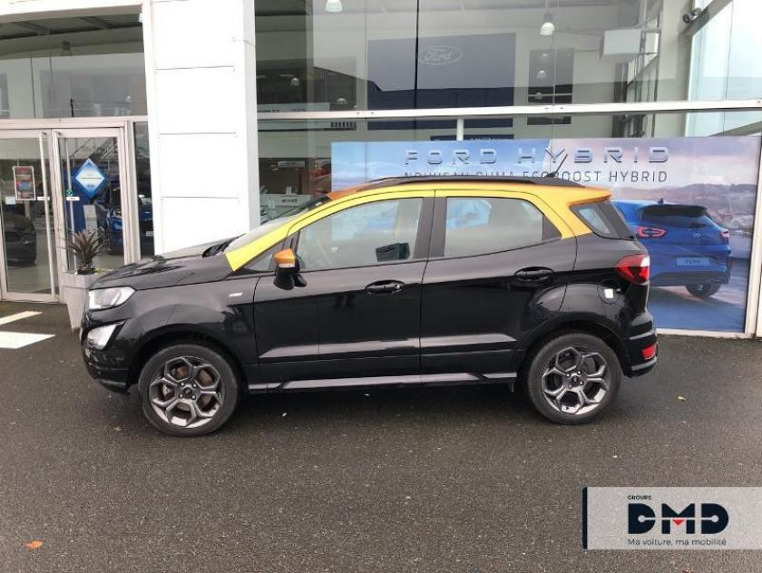 Ford Ecosport 1.5 Ecoblue 125ch St-line Noir/jaune 4x2 Euro6.2 - Visuel #2