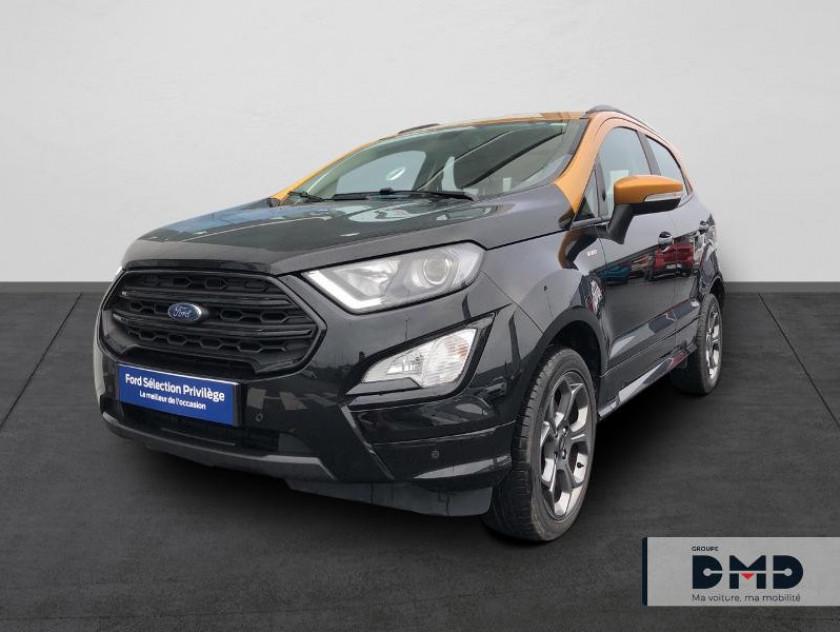 Ford Ecosport 1.5 Ecoblue 125ch St-line Noir/jaune 4x2 Euro6.2 - Visuel #1
