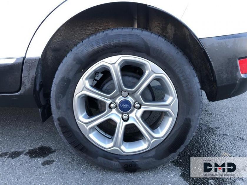 Ford Ecosport 1.5 Ecoblue 125ch Titanium 4x2 - Visuel #13