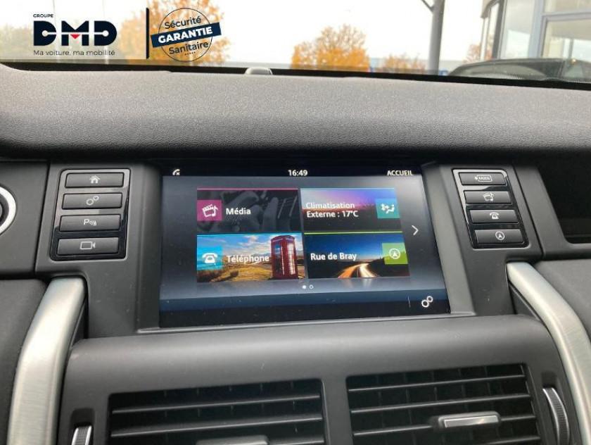 Land Rover Discovery Sport 2.0 Td4 180ch Awd Se Bva Mark Ii - Visuel #6